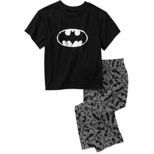 DC Comics Batman Boys' 2 Piece Pajama Set by