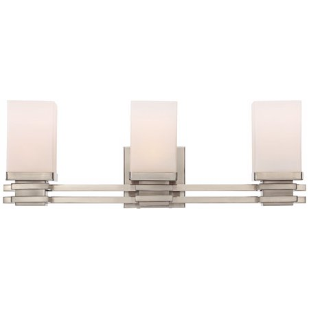 Possini Euro Design Bennett Collection Satin Nickel 22 Wide