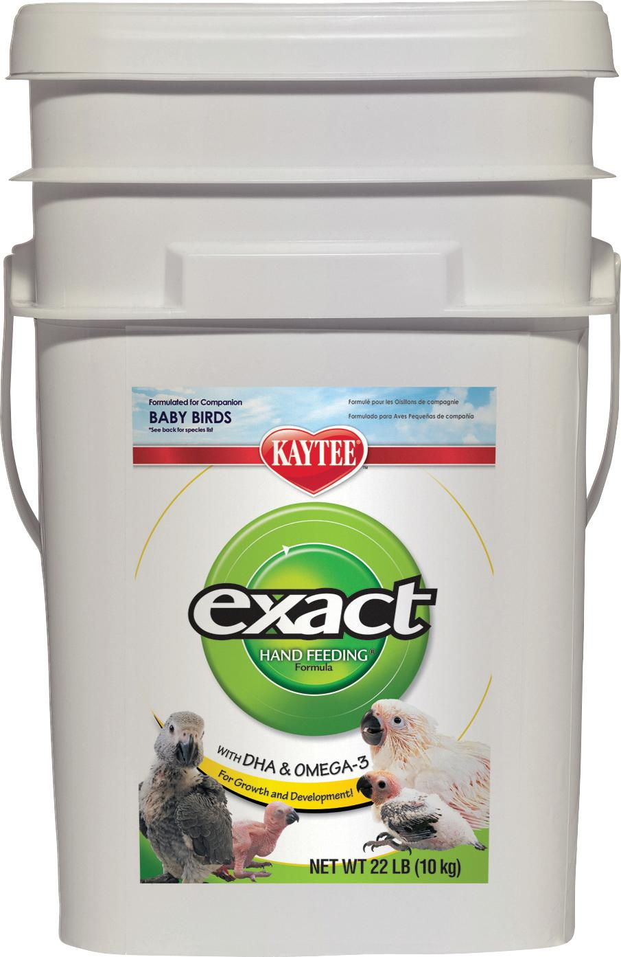 Kaytee Products 100032336 Exact Hand Feeding Formula Bird Food, 22 lb by Kaytee Products Inc