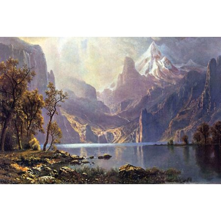 Albert Bierstadt was a German-born American painter best known for his lavish sweeping landscapes of the American West To paint the scenes Bierstadt joined several journeys of the Westward Expansion (Team America Best Scenes)