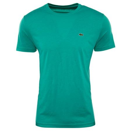 Pima Crewneck Tee - Lacoste Short Sleeve Pima Jersey Crewneck T-shirt  Mens Style : Th5275-51