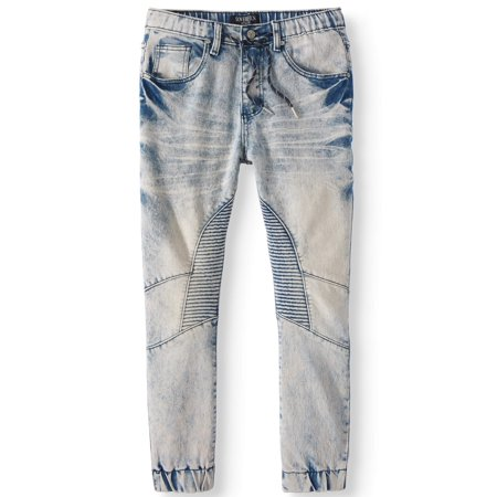 Sovereign State Stretch Denim Jogger (Big Boys) (Denin Jogger)