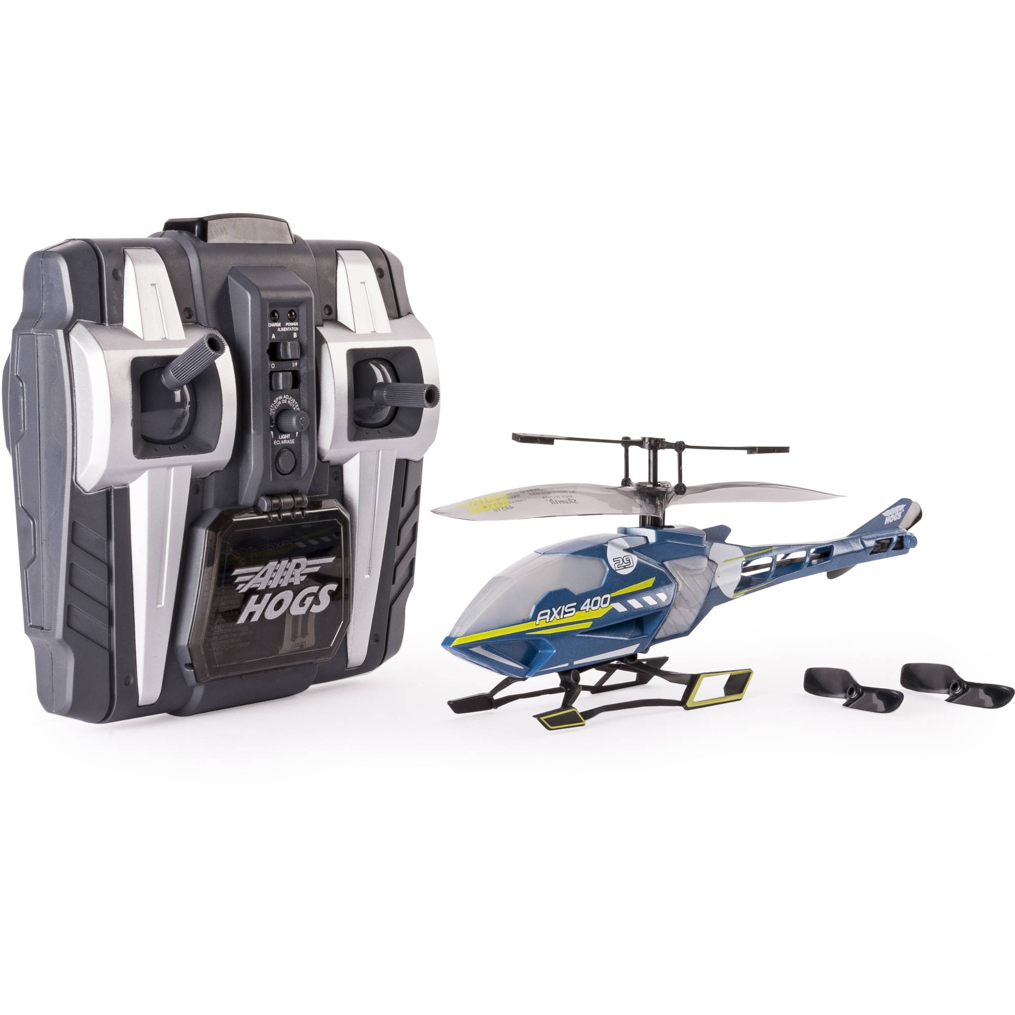 Air Hogs Axis 400x RC Helicopter, Gray