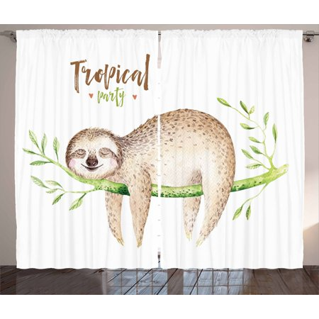 Wildlife Curtains For Living Room