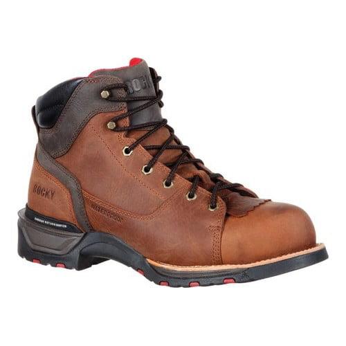 "Men's Rocky 6"" Technoram Composite Toe WP Work Boot RKK0208 by"
