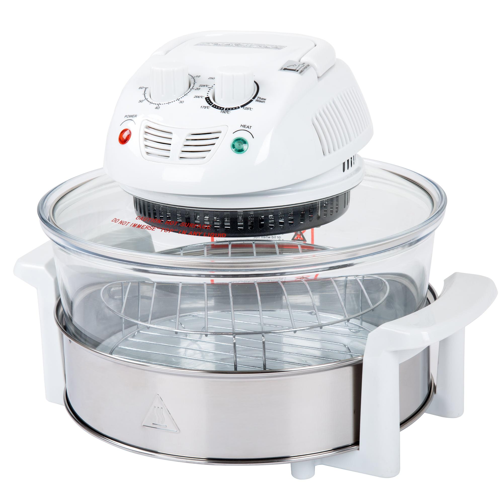 Classic Cuisine 12-17 Quart 1200W Halogen Tabletop Oven - White