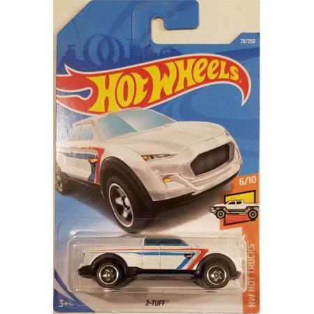 Hot Wheels 2019 Basic Mainline Hw Hot Trucks: 2-Tuff (White) - International