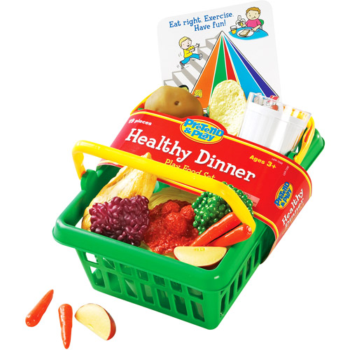 Learning Resources Healthy Dinner Play Food Basket