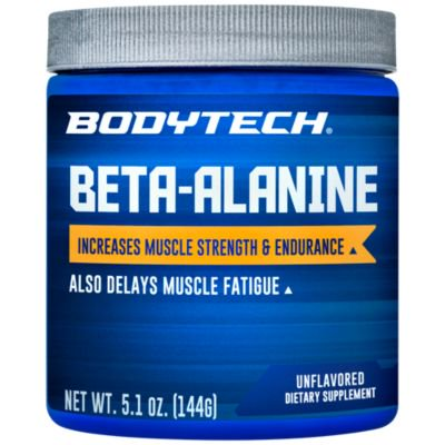 BodyTech Beta Alanine (Carnosyn) 1600 MG  Increases Muscle Strength  Endurance, Delays Muscle Fatigue (5.1 Ounce (Best Steroid For Strength And Endurance)