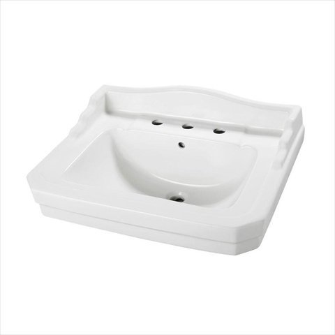 Bathroom Sinks Walmart foremost series 1930 bathroom pedestal bathroom sink (basin only
