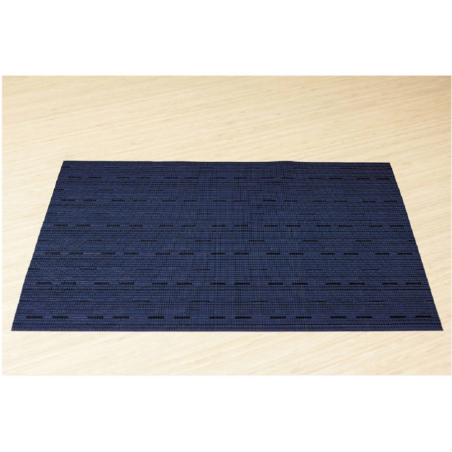 Office Settings Blue Placemats, 12 count