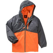 Swiss Tech Boys' Color Block 3 in 1 Convertible System Jacket