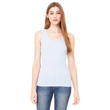 Ladies 2x1 Rib Tank Top (Bella + Canvas Ladies' 2x1 Rib Tank)