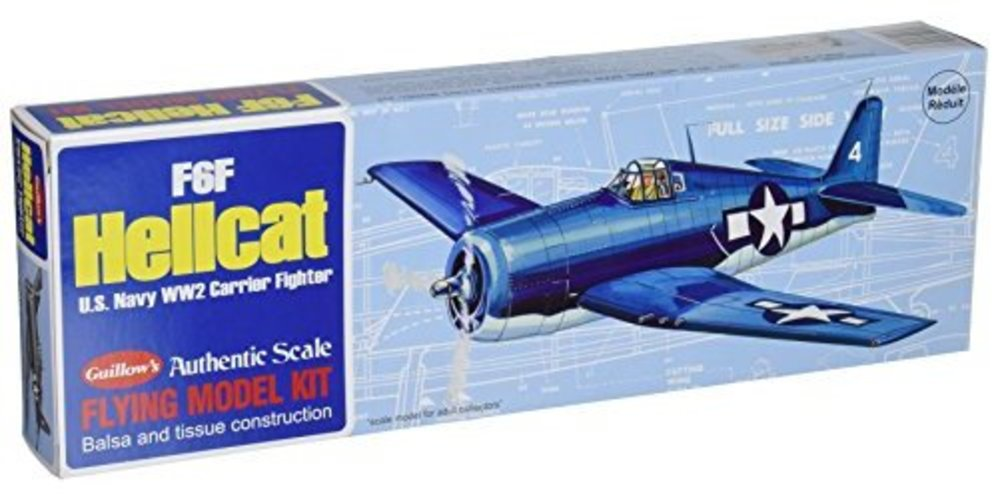 Guillow's F6F Hellcat Model Kit by Generic