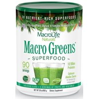 MacroLife Naturals Macro Greens - 90 Serving - 30 oz