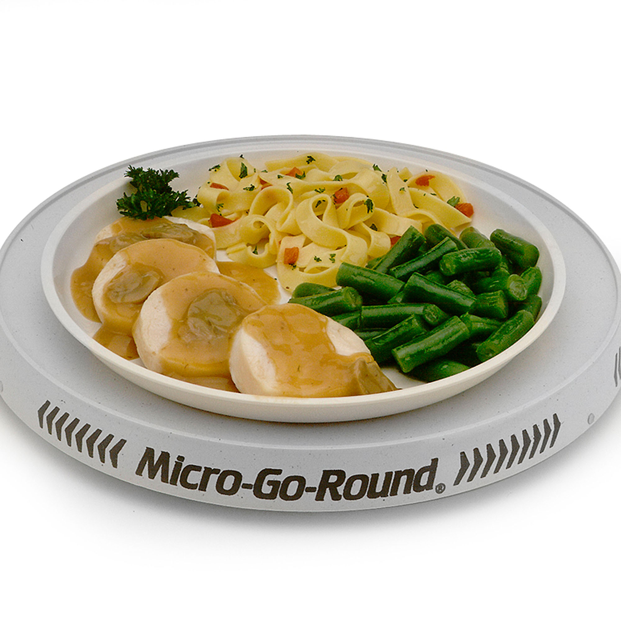 Nordic Ware 62301 Round Microwave Oven Turntable For Use With Full And Mid Sized Microwaves