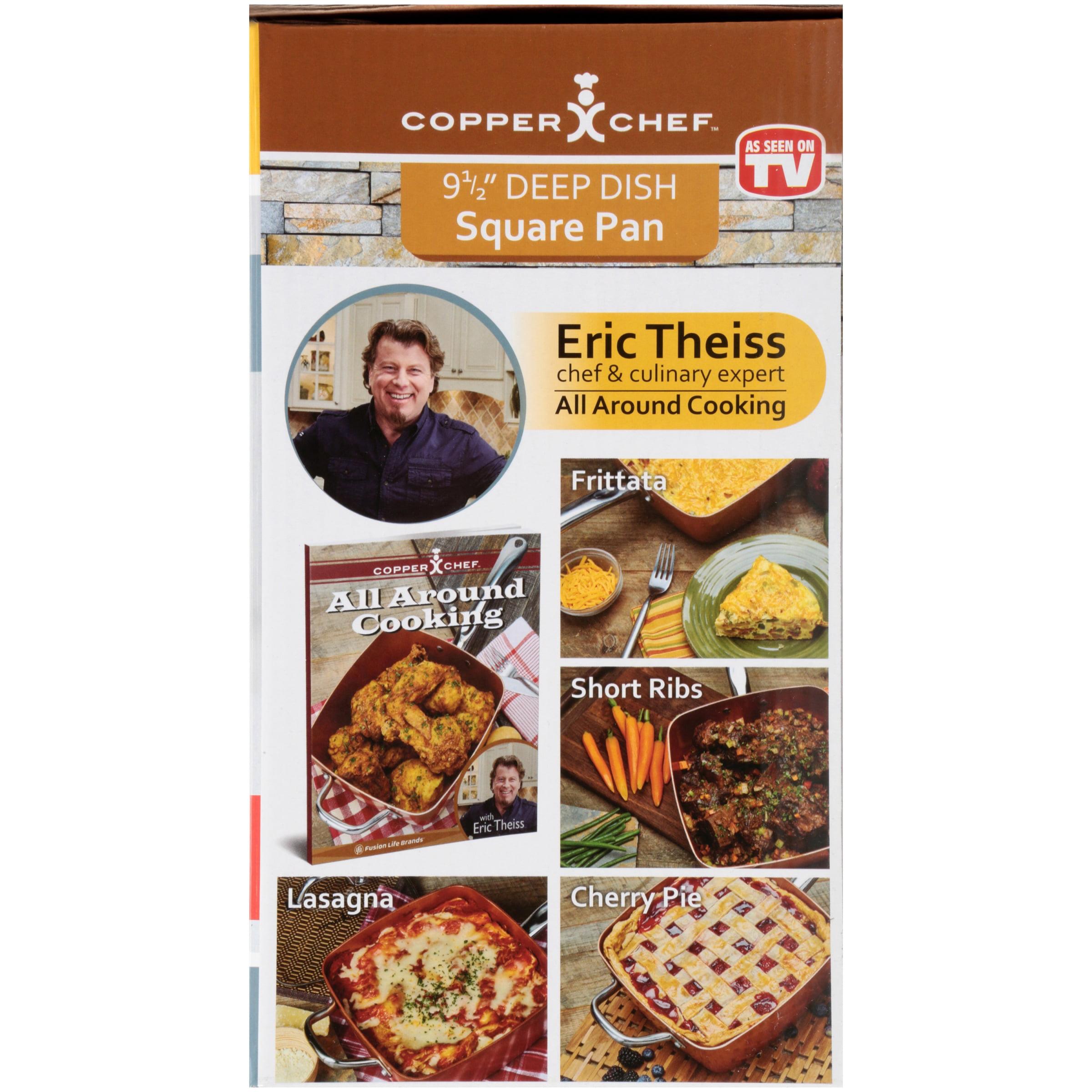 Copper Chef 8 Pc Set Walmart Com