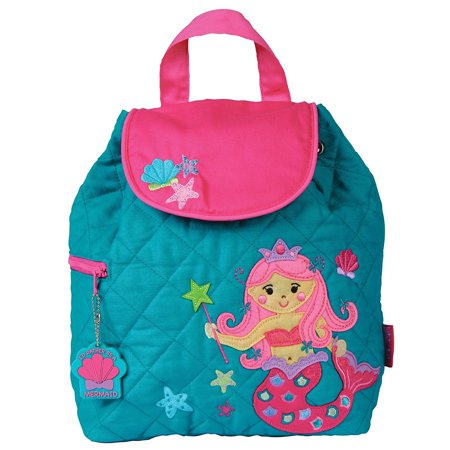 Stephen Joseph Quilted Backpack  Mermaid One Size