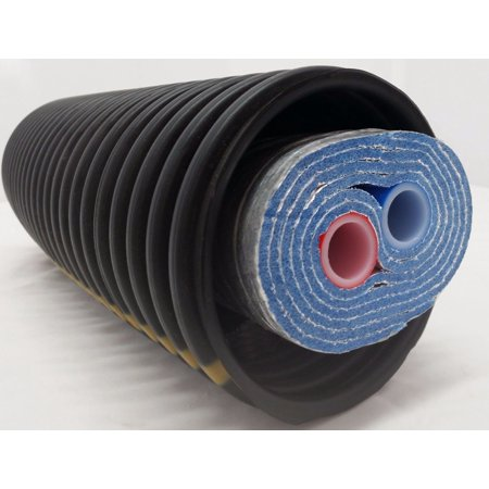100 Ft Of Commercial Grade Ez Lay Five Wrap Insulated 3 4