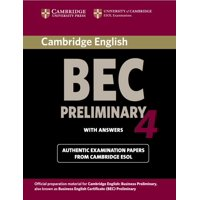 Cambridge Books for Cambridge Exams: Cambridge Bec 4 Preliminary (Paperback)