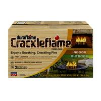 duraflame Crackleflame 4.5lb 3-hr Indoor/ Outdoor Firelog - 4-pack