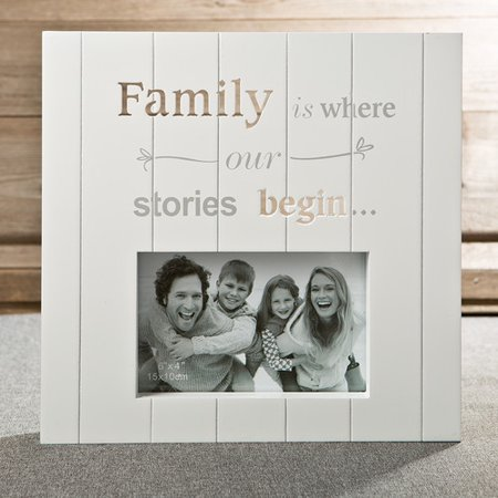Fashion Craft Laser Cut Family Picture Frame ()