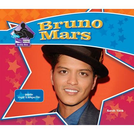 Big Buddy Books  Buddy Bios  Bruno Mars  Popular Singer   Songwriter  Hardcover