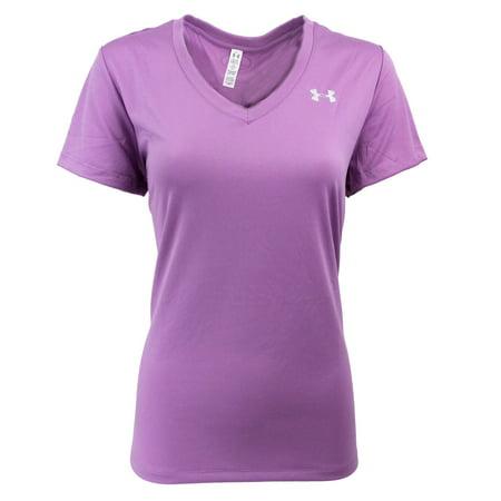 Under Armour - Under Armour Women s UA V-Neck Loose Fit T-Shirt -  Walmart.com 878772ec1b