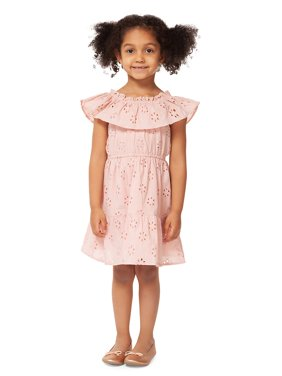 2ed262e723b Product Image Little Girl s Eyelet Cotton Dress. Dex