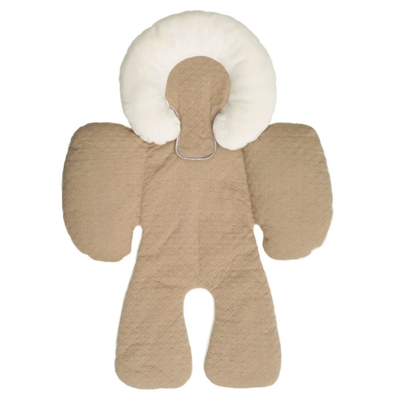 Supersellers Newborn Infant Baby Head Support for Car Seat or Stroller Thicken Liner Cushion Mat Cotton Soft... by Supersellers