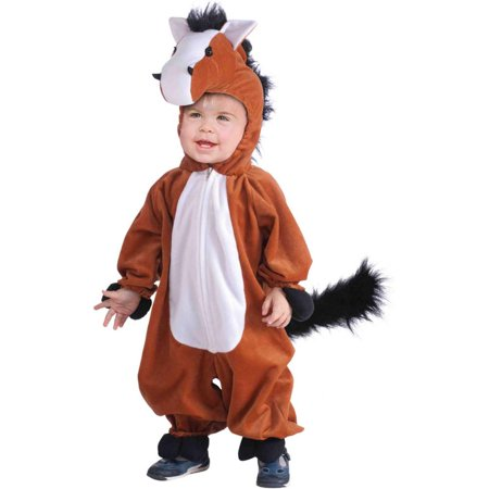 Horse Plush Kids Costume