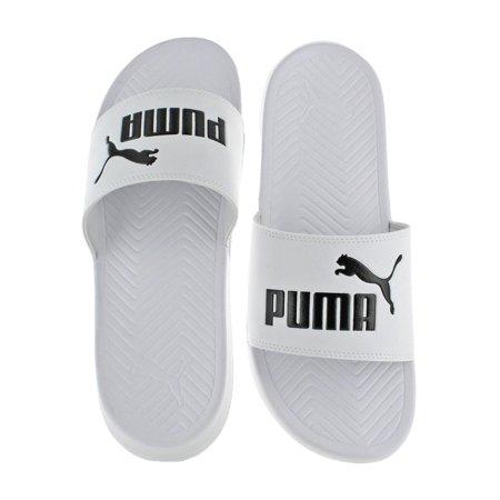 3af06af4c0507 PUMA - Puma Mens Popcat Lightweight Pool Slide Slide Sandals - Walmart.com