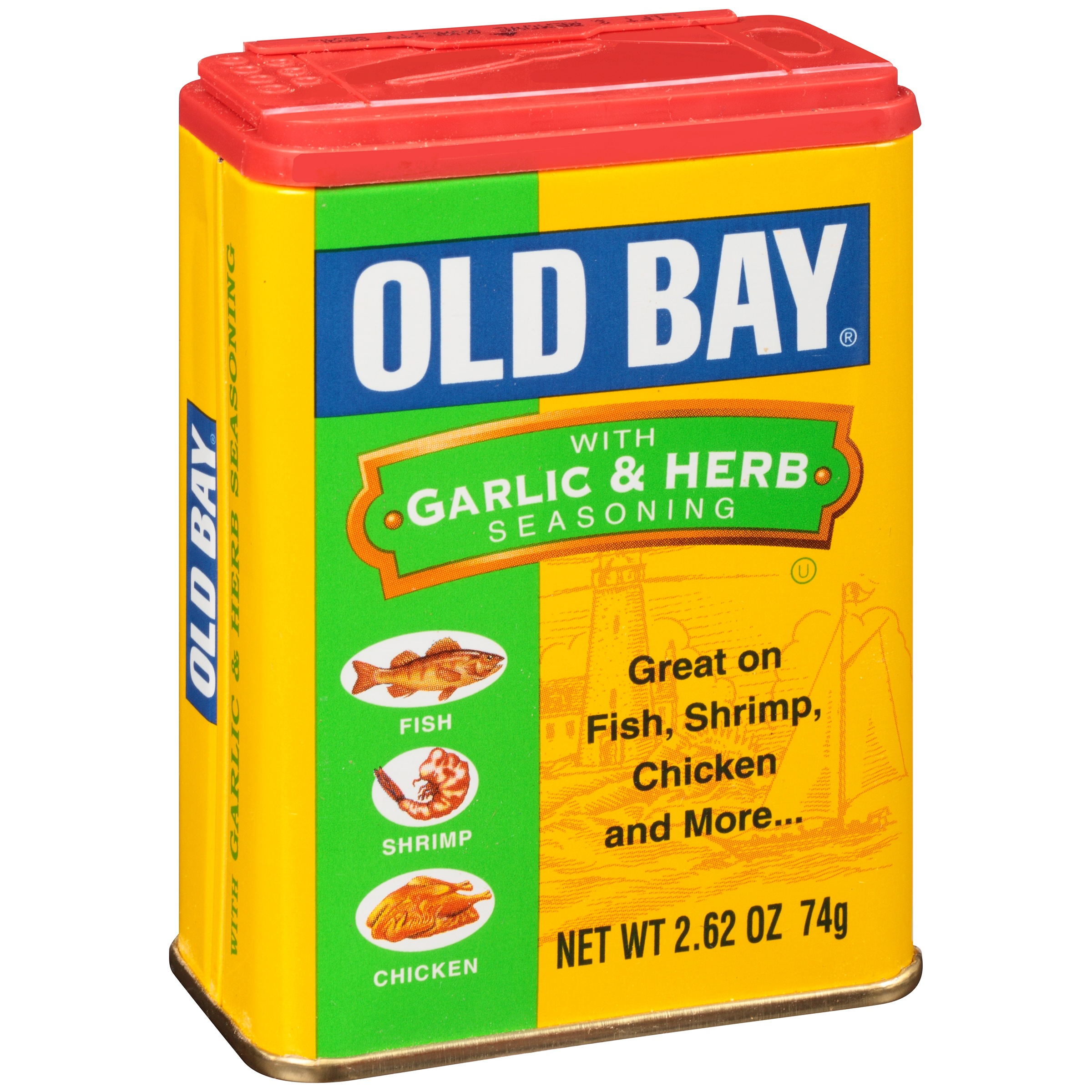 Old Bay�� Seasoning with Garlic and Herb, 2.62 oz. Can