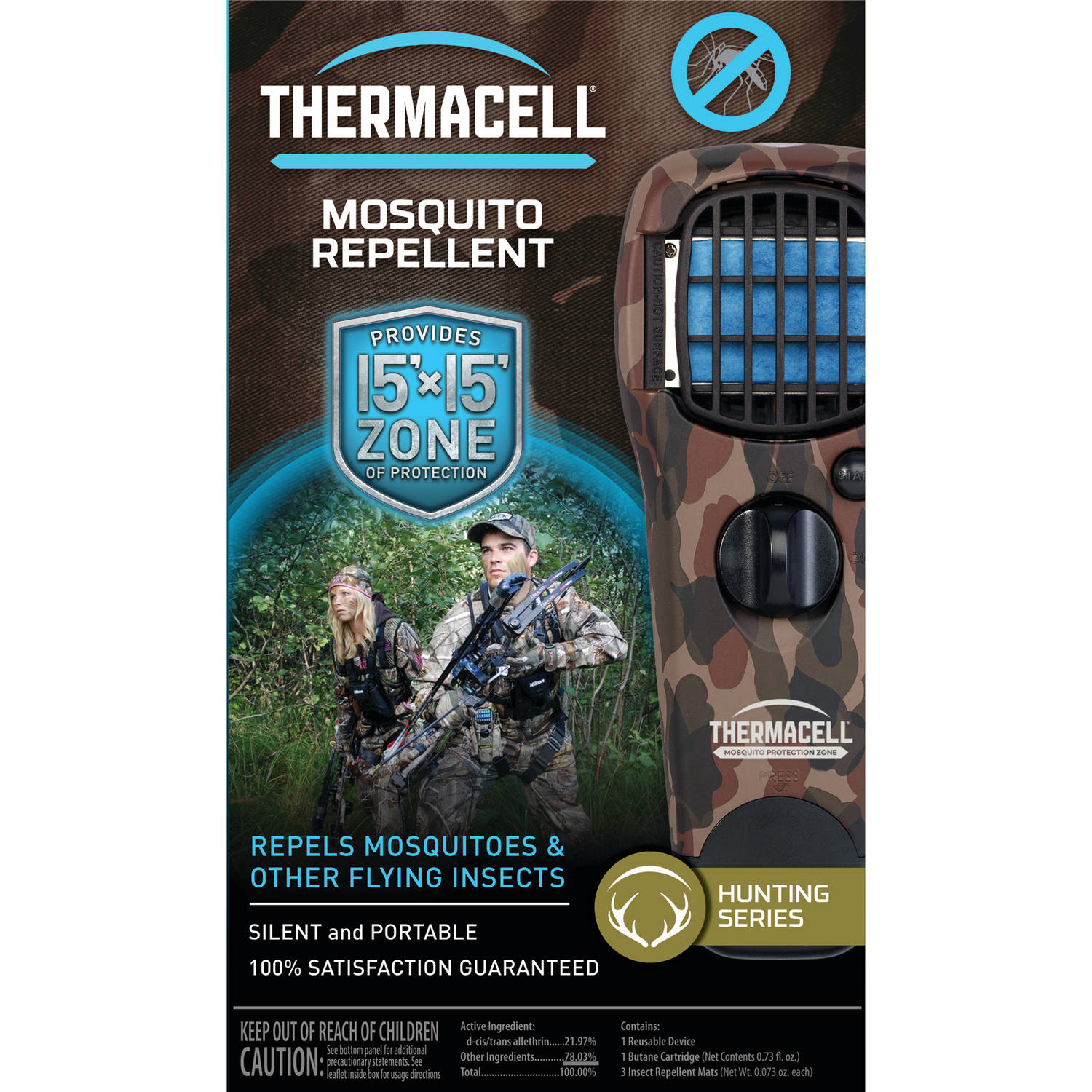 Thermacell Portable Mosquito Repellers | Turn It On, Mosquitoes Gone!    Walmart.com