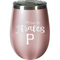 Pittsburgh Pirates 12oz. Rose Gold Wine Tumbler