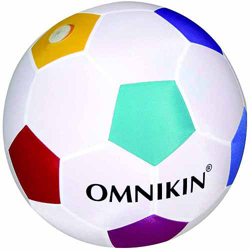 Omnikin Heavy Duty Sports Ball for Soccer Ball, 14""