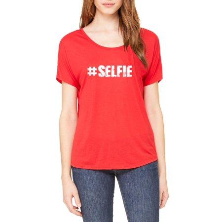 selfie match w selfie stick selfie drone selfie light birthday gift women 39 s slouchy t shirt. Black Bedroom Furniture Sets. Home Design Ideas