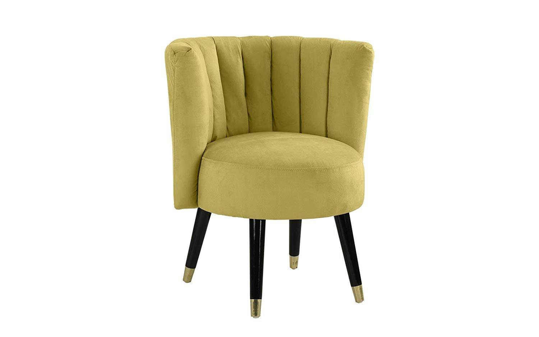 Casa Andrea Milano Classic Living Room Velvet Round Accent