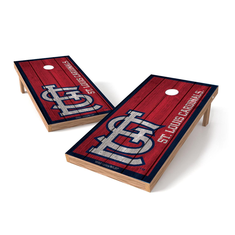 St. Louis Cardinals 2' x 4' Big Vintage Authentic Tailgate Toss Set - No Size