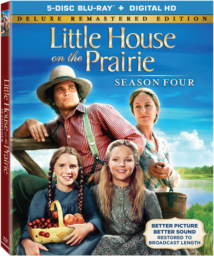 Little House on the Prairie Season 4 Collection (Blu-ray)