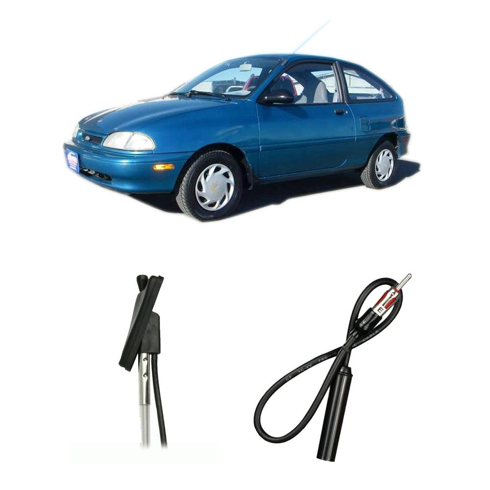 Metra Electronics Ford Aspire 1995-1997 Factory OEM Replacement Radio Stereo Custom Antenna Mast