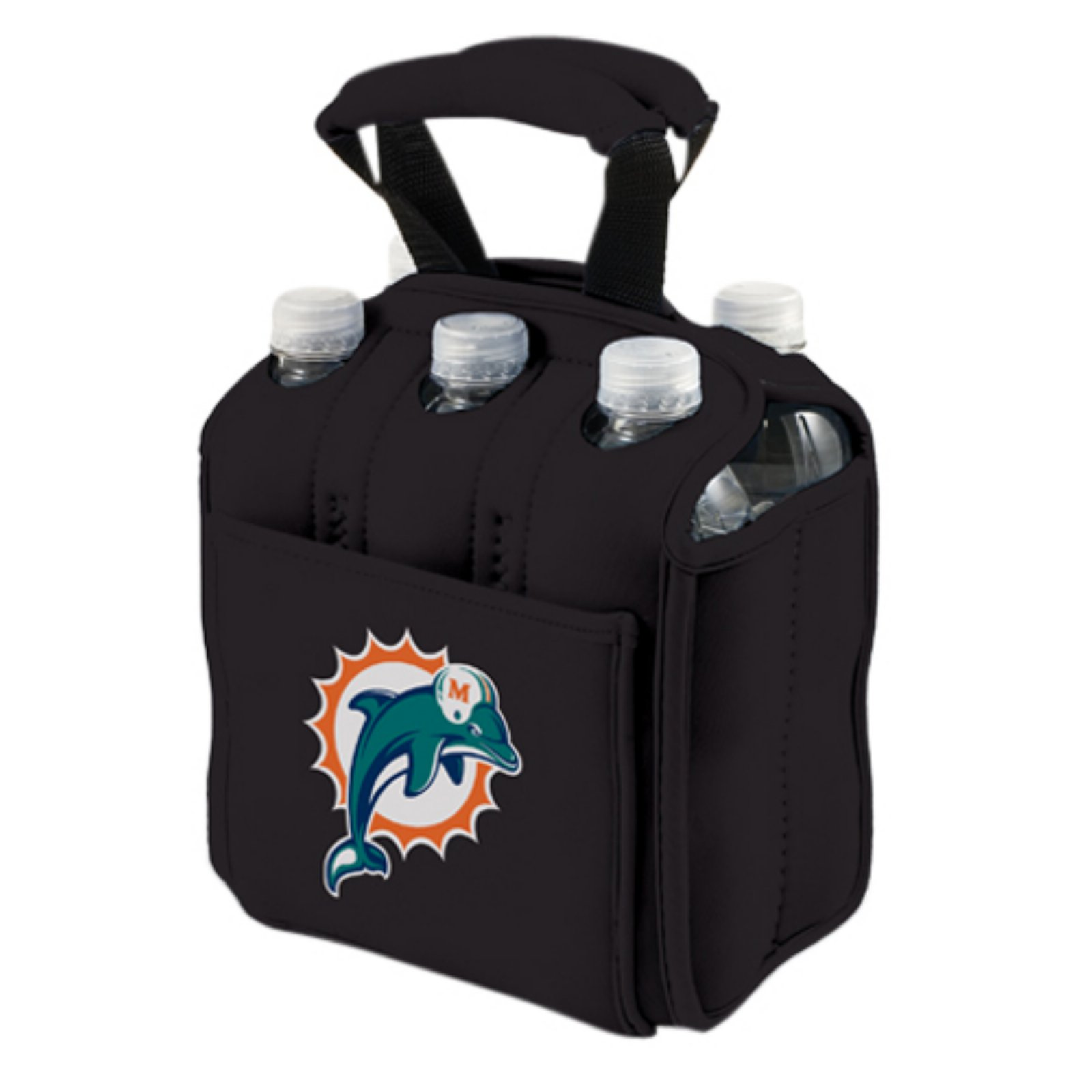 Picnic Time Six Pack, Blk Miami Dolphins Digital Print