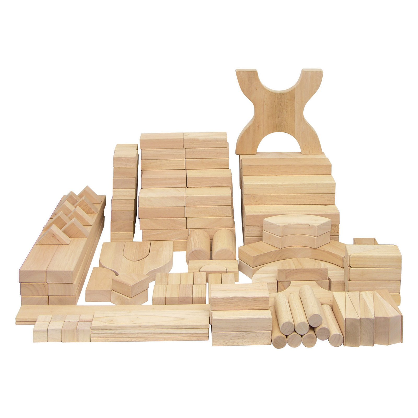 ECR4Kids 170-pc Hardwood Unit Block Set