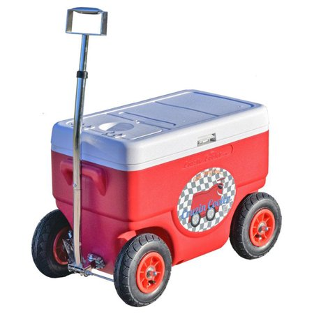 Cruzin Cooler Coolagon Ice Chest Wagon Trailer ()