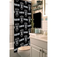 NFL Oakland Raiders Shower Curtain, 1 Each