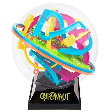 Gyronaut Alpha Puzzle Ball: 138 Challenging Obstacles and Display Stand (Puzzle Ball Solution)