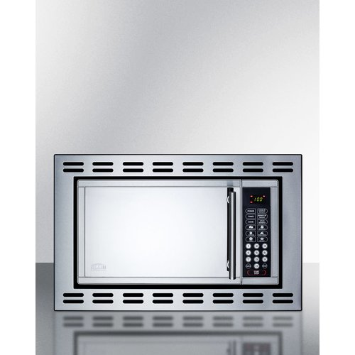 Summit Appliance Summit 23.38-inch 1 cu.ft. Built-In Microwave