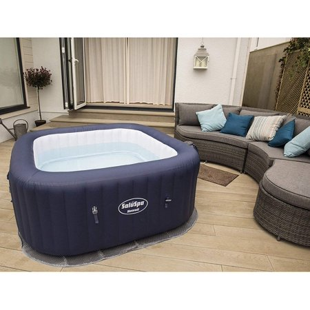 SaluSpa Hawaii AirJet 6-Person Inflatable Spa Hot Tub with Chemical Kit Bestway