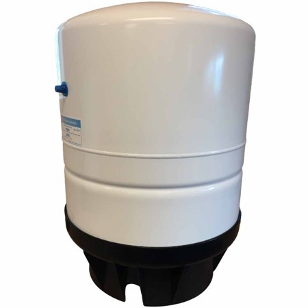 - Pressurized 14.0 Gallon RO Storage Tank