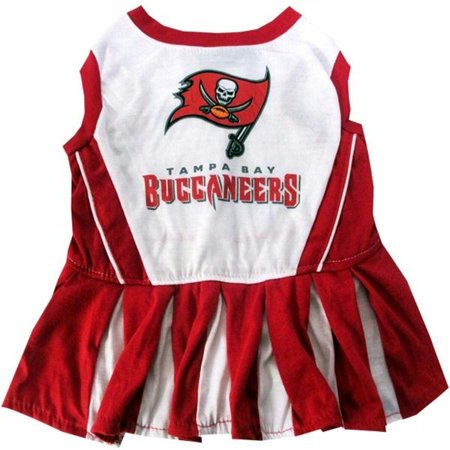 Tampa Bay Buccaneers Cheerleader Pet Dress - Medium - image 1 de 1